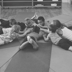 Mindful Kiddo Circle BW