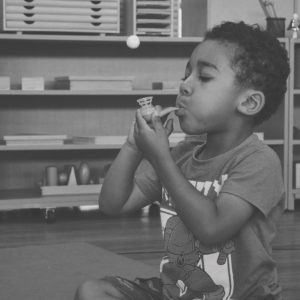 Mindful Kiddo Blow BW